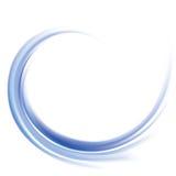 Vector background of cobalt swirling water texture Stock Image