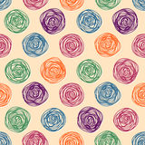 Vector background color pastel seamless pattern Royalty Free Stock Photography