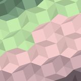Vector background with colored abstract shapes Royalty Free Stock Photography
