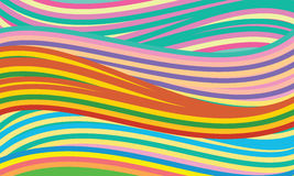 Vector background with colored lines Royalty Free Stock Photos