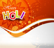 Vector background of colorful grunge holi Royalty Free Stock Image