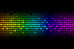 Vector background -  colorful lights Royalty Free Stock Images