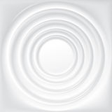 Vector background with concentric circles of water Royalty Free Stock Image