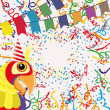 Vector background. Confetti. Vector background for your text. Confetti Stock Images