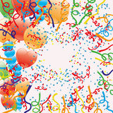 Vector background. Confetti Stock Images