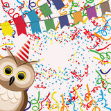 Vector background. Confetti. Vector background for your text. Confetti Royalty Free Stock Images