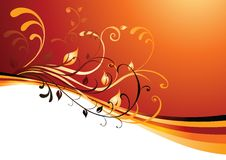 Vector background with copy space Stock Image