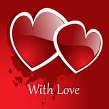 Vector background Day Valentine Royalty Free Stock Photography