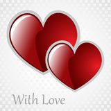 Vector background Day Valentine Royalty Free Stock Images