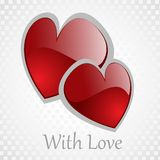 Vector background Day Valentine Royalty Free Stock Photo