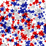 Vector background decorated with texture stars. EPS Stock Photos