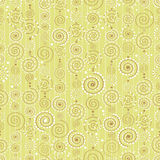 Vector background with decorative curls Stock Photography