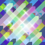 Geometric Abstraction Royalty Free Stock Photography