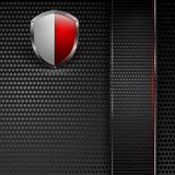 Vector background. Eps10 colorful design. Abstract vector background with colorful shield. Eps10 design Royalty Free Stock Photo