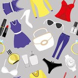 Vector background. Fashion. Stock Image