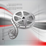 Vector background with  film Stock Images