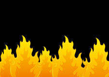 Vector background. Flame. Stock Photo