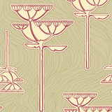 Vector background from flower. Branch Royalty Free Stock Photo