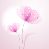 Vector background with Flower Royalty Free Stock Photography