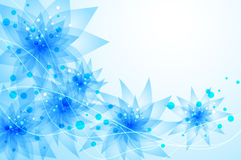 Vector background with Flower Royalty Free Stock Photo