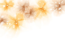 Vector background with flowers Stock Photography