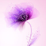 Vector background with flowers Stock Images