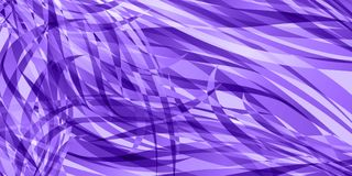 Vector background of flowing purple lines. For registration of paper or postcards Stock Photography