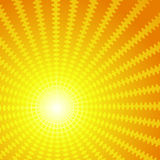 Vector background in the form of the sun Royalty Free Stock Photography