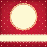 Vector background with frame Royalty Free Stock Images