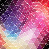 Vector background. Geometric abstract texture. Retro pattern of Stock Photo
