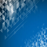 Vector background geometric polygonal abstract design Stock Images