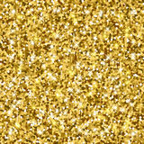Vector background with gold glitter. Gold sparkle vector template for your text. Template for your design stock illustration