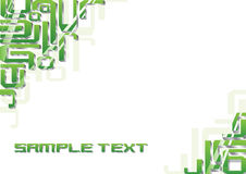 Vector background green. Vector abstract background. Can be used as some template or poster or something corporate Royalty Free Stock Photography