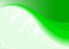 Vector background on green color Royalty Free Stock Photography