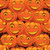 Vector  background Halloween pumpkin Stock Photography
