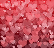 Vector background with hearts. Vector seamless background with hearts royalty free stock images