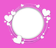 Vector background with hearts. Vector seamless background with hearts vector illustration