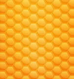 Vector background with honeycombs Royalty Free Stock Image
