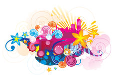 Vector background illustration Royalty Free Stock Image