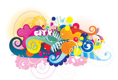 Vector background illustration Stock Photography