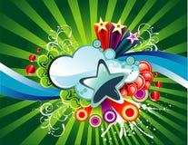 Vector background illustration Stock Photo