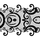 Vector background lace Stock Photography