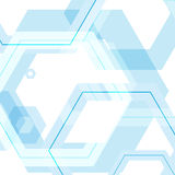 Vector background of large colored hexagons eps.  Royalty Free Stock Photo