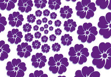 Vector background lilac flower Stock Images