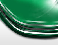 Vector background - lines. Vector background with lines in green, white and black color Stock Image
