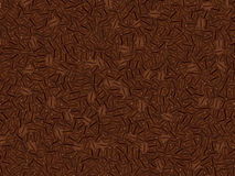 Vector background made in coffee beans. Royalty Free Stock Photo