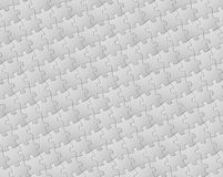 Vector background made from white puzzle pieces Stock Image