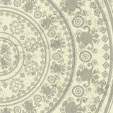 Vector, background, mandala, Arabesque, circle, circular ornament, religion, antique, marble, Islam, Buddhism, decor, design, deco Stock Photography