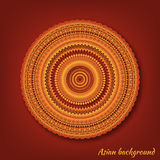 Vector background with mandala Stock Photography