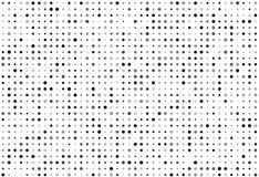 Vector background of many shade of gray circles of random size and random color.  stock illustration